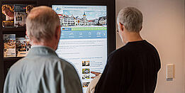 Einsatzgebiete Digital Signage: in Touristinformationen