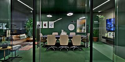 Moderne Büromöbel Für Ihre Arbeitswelten. Moderner Konferenzraum. Moderner  Konferenzraum