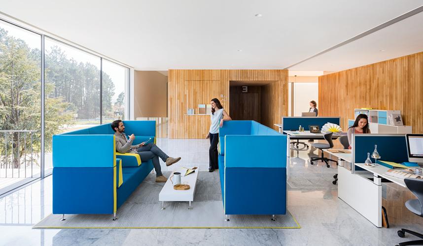 Moderne büroeinrichtung  Objekteinrichtungen